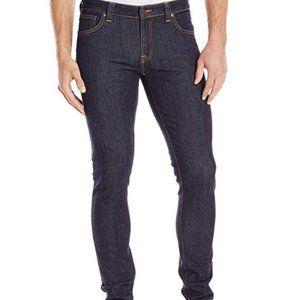 Nudie Jeans Skinny Lin Pant Rinsed 26 X 32